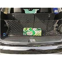 Car Rear Cargo Elastic String Net Storage Bag Organizer Flexible Cargo Net Mesh for HONDA PILOT 2003-2015