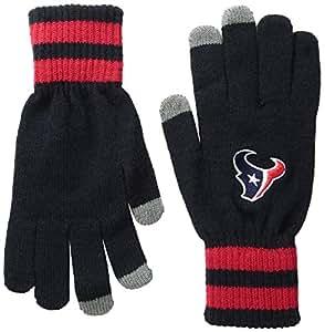 best website 43282 460b7  47 NFL Houston Texans Jumble Gloves, One Size, Navy