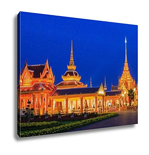 Ashley Canvas, Phra Meru Thai Royal Crematorium Bangkok Thailand, Home Decoration Office, Ready to Hang, 20x25, AG5875399 by Ashley Canvas