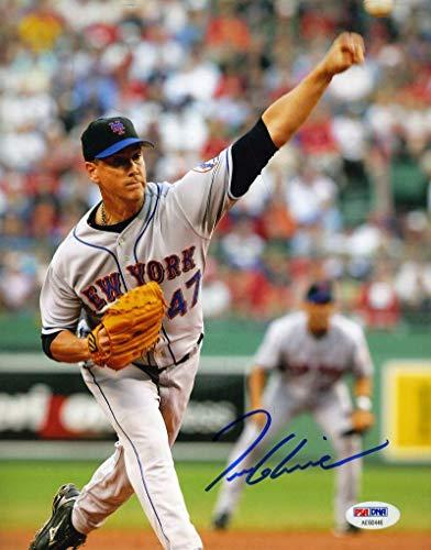 TOM GLAVINE PSA DNA Coa Hand Signed 8x10 Mets Photo Authentic Autograph