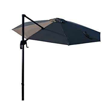 Amazon De Ziigo Sonnenschirm Rechteckig Ampelschirm 295cm Schirm