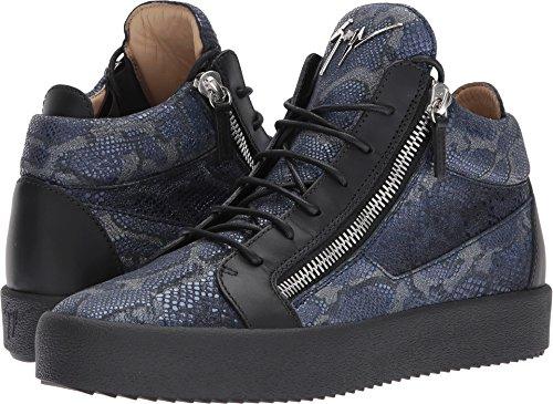 Giuseppe Zanotti Mens Mai Londres Mi-haut Zayn Sneaker Nuit
