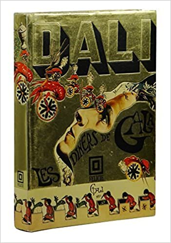 les diners de gala the dali cookbook 1973 cloth with dustjacket inscribed and drawn by salvador dali