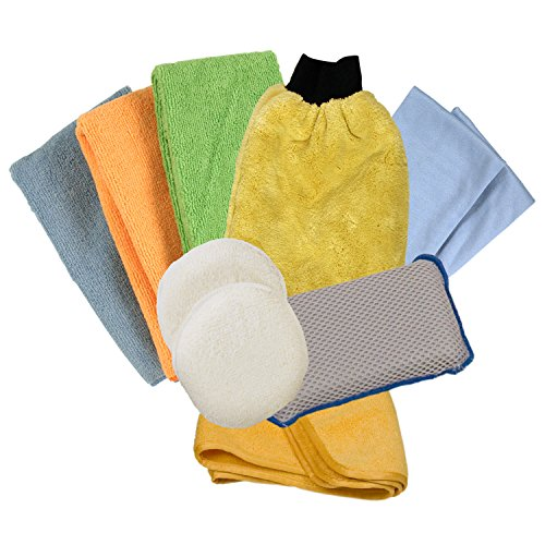 Detailer's Choice 1122 Microfiber Detailing Kit - 10-Piece