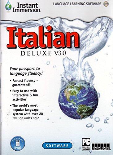 Instant Immersion Italian Deluxe V3 0