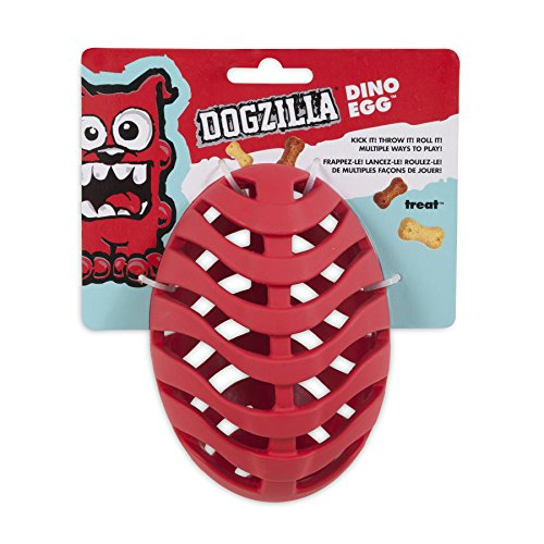 Dogzilla Dino Egg Toy, Red