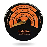 Magnetic Stove Thermometer Oven Temperature Meter for Wood Burning Stoves Gas Stoves Pellet Stove Stoves Avoid Stove Fan Damaged by Overheat