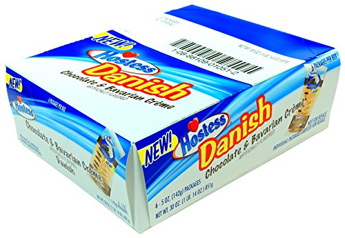 hostess-chocolate-bavarian-creme-danish-5-oz-pack-of-6-individual-packages