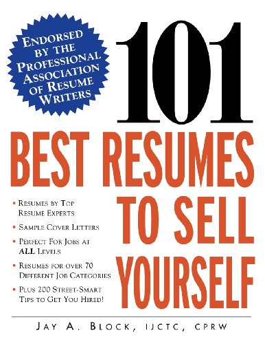 6 101 best resumes to sell yourself