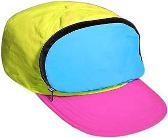 Fanny Pack Hat Nylon  80s/90s Cap for Men   Retro Cap for Women  Zipper Pocket