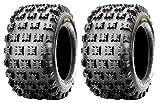 Pair of CST Ambush Race/Desert (4ply) 19x8-8 ATV Tires (2)