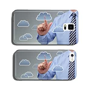 Cloud computing concept cell phone cover case iPhone6