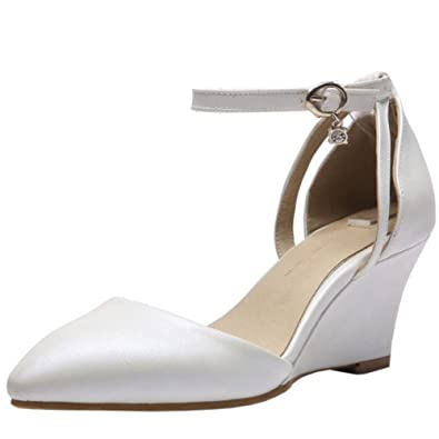 Zanpa Ladies Elegant Dress Sandalen Keilabsatz