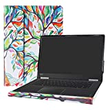 """Alapmk Protective Case Cover For 15.6"""" Lenovo Yoga 710 15 710-15ISK 710-15IKB & IdeaPad 720S 15 720S-15IKB Touch-15IKB Laptop(Warning:Not fit Yoga 730/720 & IdeaPad 710s Series),Love Tree"""