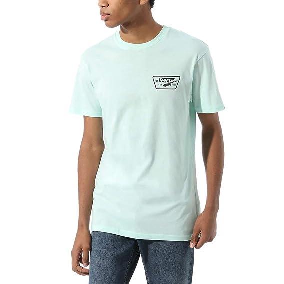 Vans Full Patch Back SS Camiseta, Bahía, S para Hombre: Amazon.es: Ropa y accesorios