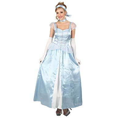 Disney Princess New Cinderella Costume adult SIZE 6,8,10,12,14,16 New movie