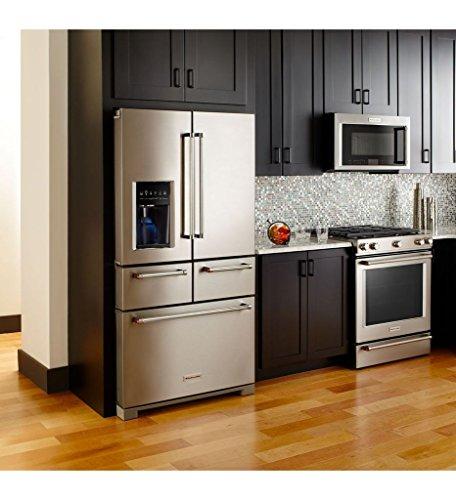 KitchenAid 36 Inch Multi Door Freestanding Refrigerator product image