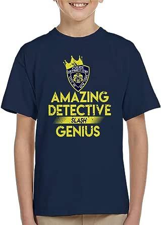 Cloud City 7 Brooklyn Nine Nine Amazing Detective Slash Genius Kid's T-Shirt
