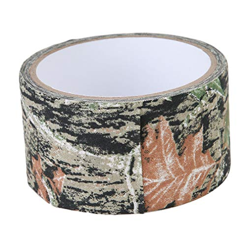 Iumer 5M Camouflage Tape Waterproof Gun Hunting Outdoor Camping Stealth Tape Accessories ()