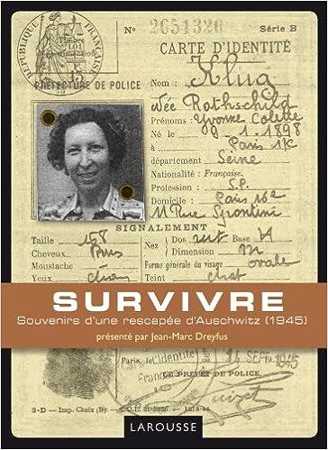 Livre Survivre pdf