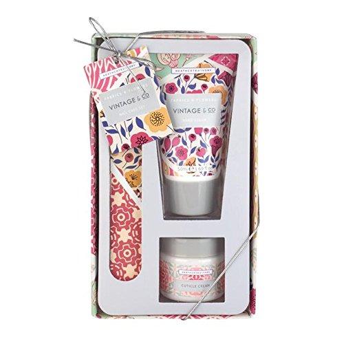 Heathcote & Ivory Vintage & Co Fabric & Flowers Nail Care Set (Pack of 6) - ヒースコート&アイボリーヴィンテージ&コファブリック&フラワーネイルケアセット x6 [並行輸入品] B0727R6FF6