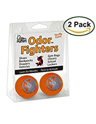 FootMatters Odor Fighters Shoe Deodorizer Balls - Keep Areas Smelling Fresh - Adjustable Vanilla Scent …
