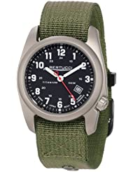 Bertucci Mens 12122 A-2T Original Classics Durable Titanium Field Watch