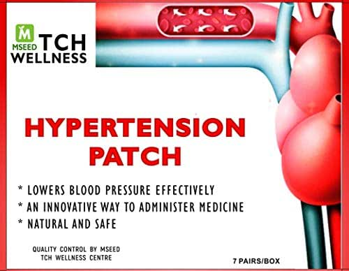 Hypertension Patch, Lowering Blood Pressure 100% Natural 14 Patches