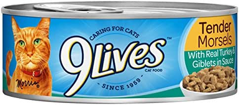 Cat Food: 9Lives Tender Morsels
