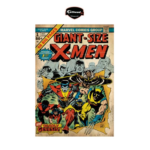 X-Men Giant Size Comic Book Cover Wall Graphic