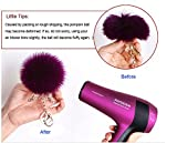 DIY 12pcs Faux Fox Fur Fluffy Pompom Ball for Hats Shoes Scarves Bag Charms