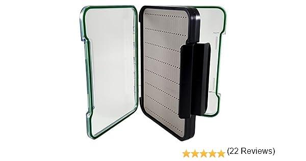 Jumbo tamaño Magnum policarbonato caja para moscas de pesca ...