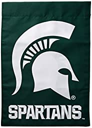 NCAA Michigan State Spartans 2-Sided Garden Flag, Team Color, One Size