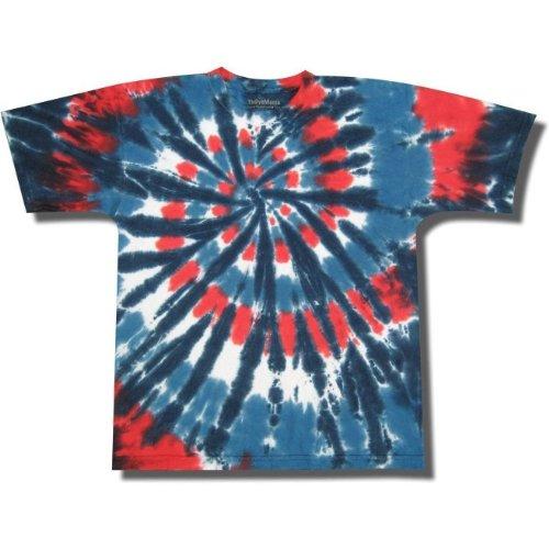 Blue Swirl Tie Dye - Tie Dye Mania