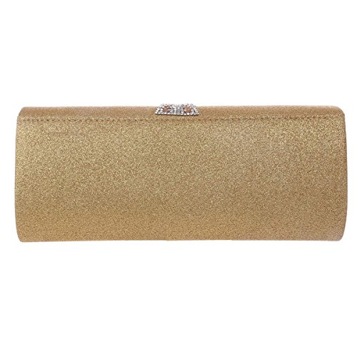 Magnet Evening Bags Damara Snap Long Womens Clutch Glitter Black ttqz4U