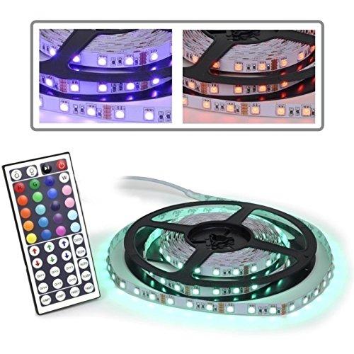 Logisys LDXRM196C RGB LED Strip and Remote Control -