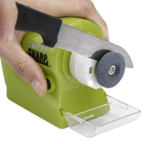 Amazon.com: Profesional cuchillo eléctrico sacapuntas Swifty ...