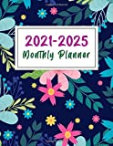 2021-2025 Monthly Planner: Five Years 60 Months