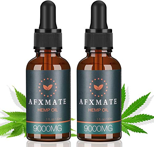 2-Pack-Hemp-Oil-for-Pain-Anxiety-Relief-9000MG-of-Organic-Hemp-Extract-100-Natural-Dietary-Supplement-Rich-in-Vitamin-Omega-Helps-with-Sleep-Skin-Hair-Improve-Health
