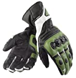Dainese Carbon Cover Gloves White/Blk/Green XS