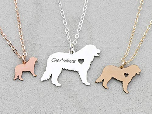 Bernese Mountain Dog Necklace - IBD - Berner - Personalize w