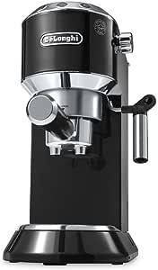 De'Longhi Dedica Coffee Machine EC680.BK, 15 Bar Espresso Pump - Black by De'Longhi