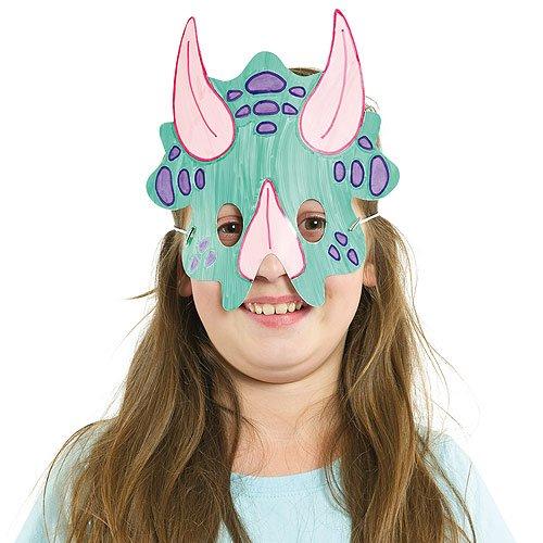 Kauf echt echte Qualität Turnschuhe 2018 Masken zum Basteln und Ausmalen - Dinosaurier - für Kinder ...
