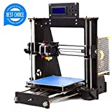 3D Printer Kit - 3D Printer, Trovole I3 Prusa DIY LCD Display High Accuracy Desktop 3D Printers Kit Self-Assembly Printer Machine with Free 1.75mm ABS/PLA Filament(Build Size 200×200×180mm) (I3 3D Printer)