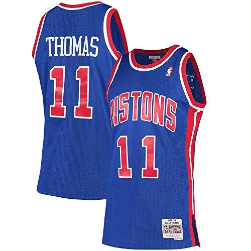 Mitchell & Ness Isiah Thomas Detroit Pistons 1988-89 Hardwood Classics Swingman Jersey (Detroit Pistons Basketball Jersey)