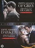 50 Nuances - Coffret : Cinquante Nuances de Grey + Cinquante Nuances Plus Sombre - Édition spéciale - Version longue non censurée