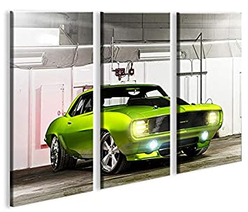 Camaro Us Cars 3p Bilder Auf Leinwand Fur Die Wand Bereit Stellen