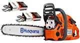 "Husqvarna 460 Rancher (60cc) Cutting Kit, includes a 460 Rancher chainsaw PLUS 24"" Bar/Chain PLUS 3 Extra WoodlandPRO Chain Loops"