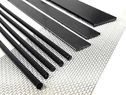 Kit de reparación PE-HD 1 negro - soldadura plastico - az-reptec HDPE