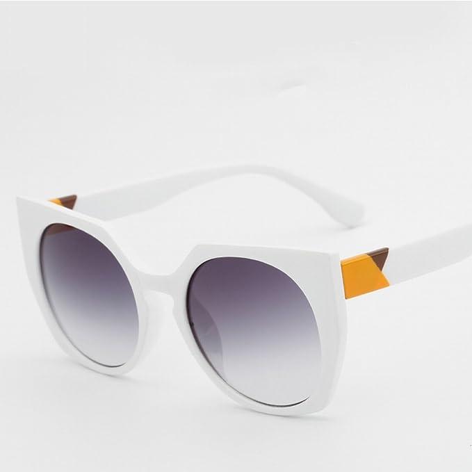 Sonnenbrille Persönlichkeit Katze Augen Mode Katze Brille Anti - Violett Endlinie Sonnenbrille , Externer Tee